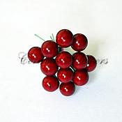 Материалы для творчества handmade. Livemaster - original item Decorative berries on a wire. Handmade.