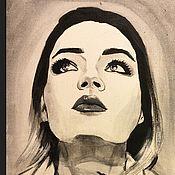 Картины и панно ручной работы. Ярмарка Мастеров - ручная работа 90-е. Из серии картин Черно-Белое Ретро. Handmade.