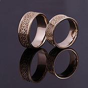 """Свадебный салон ручной работы. Ярмарка Мастеров - ручная работа Обручальное кольцо """"Традиционное"""". Handmade."""