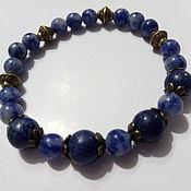 Украшения handmade. Livemaster - original item Bracelet made of lapis lazuli.. Handmade.