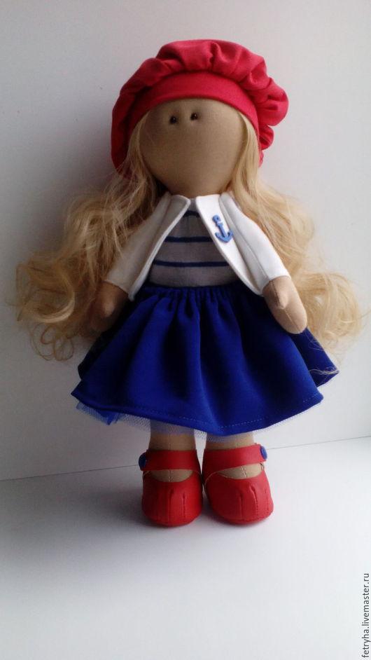 Коллекционные куклы ручной работы. Ярмарка Мастеров - ручная работа. Купить Куколка. Handmade. Комбинированный, подарок ребенку, кожзам