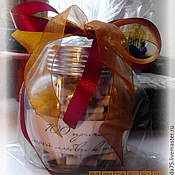 """Подарки к праздникам ручной работы. Ярмарка Мастеров - ручная работа Банка с записками """"100 причин моей любви к тебе"""". Handmade."""