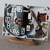 Для дома и интерьера handmade. Livemaster - original item Clock from hard disk №1 (Umbra Numbra). Handmade.