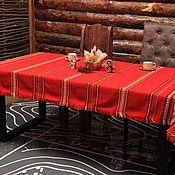 Для дома и интерьера handmade. Livemaster - original item Tablecloth woven