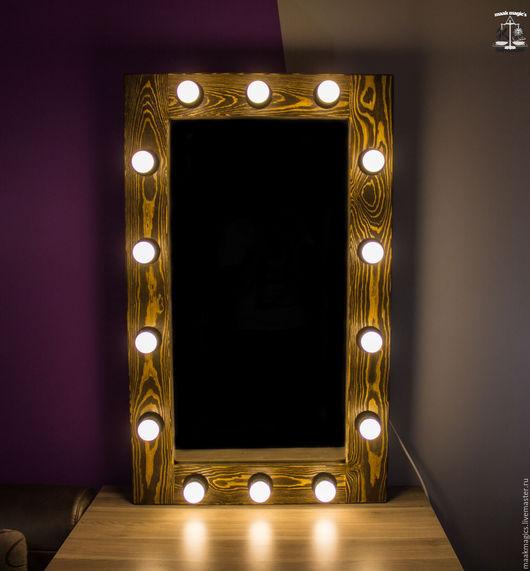 Зеркала ручной работы. Ярмарка Мастеров - ручная работа. Купить Гримерное зеркало Deep Dawn Forest Plus (L) MAAK Magic's. Handmade.