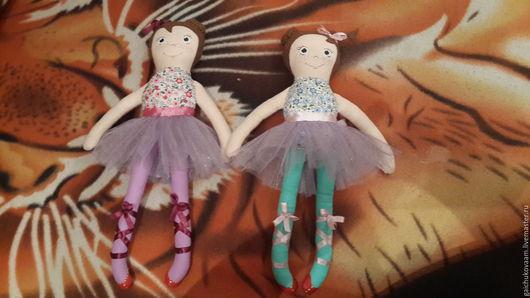 Человечки ручной работы. Ярмарка Мастеров - ручная работа. Купить Куколка - балерина. Handmade. Кукла ручной работы, фетр, синтепон