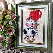 Сувениры и подарки handmade. Livemaster - original item Love The Cow. Handmade.