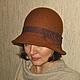 """Шляпы ручной работы. Ярмарка Мастеров - ручная работа. Купить Валяная шляпка """"Виктория"""". Handmade. Валяная шляпка, валяная шляпа"""