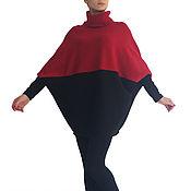 Одежда handmade. Livemaster - original item Turtleneck Sweater Pullover Tunic BACI. Handmade.