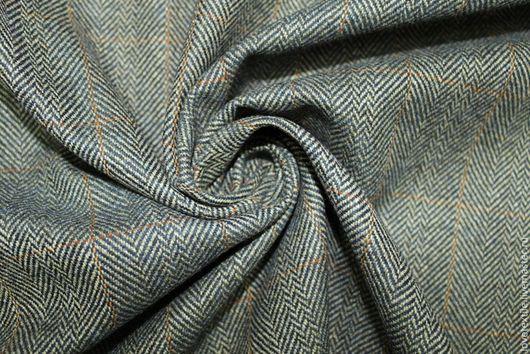 Шитье ручной работы. Ярмарка Мастеров - ручная работа. Купить L741, Шерсть Brioni. Handmade. Ткань для творчества, платье из шерсти