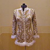 """Одежда ручной работы. Ярмарка Мастеров - ручная работа жакет """"золотая осень"""". Handmade."""