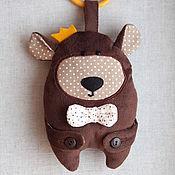 """Куклы и игрушки ручной работы. Ярмарка Мастеров - ручная работа Сенсорная игрушка """"Бурый Мишка"""". Handmade."""