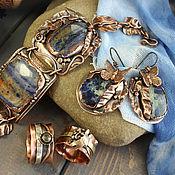 Украшения handmade. Livemaster - original item Set of copper