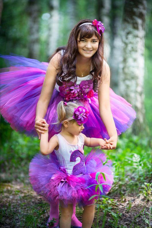 Одежда для девочек, ручной работы. Ярмарка Мастеров - ручная работа. Купить Пышные юбочки-пачки, боди, футболочки, повязки с цветами. Handmade.
