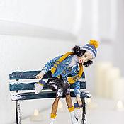 Куклы и пупсы ручной работы. Ярмарка Мастеров - ручная работа Кукла из дерева Жаклин. Handmade.