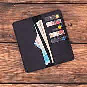 Сумки и аксессуары handmade. Livemaster - original item Genuine leather wallet Tokyo. Handmade.