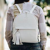 Сумки и аксессуары handmade. Livemaster - original item Backpack leather female