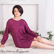 Одежда handmade. Livemaster - original item Knitted dress, sweater, tunic