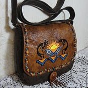 Сумки и аксессуары handmade. Livemaster - original item Bag-saddle Ethno. Handmade.