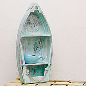 Полка-лодка для хранения мелочей «Let Your Dreams Set Sail»
