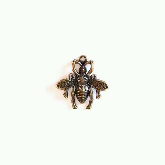 Для украшений ручной работы. Ярмарка Мастеров - ручная работа. Купить Подвеска пчелка. Handmade. Материалы для творчества, материалы для скрапа