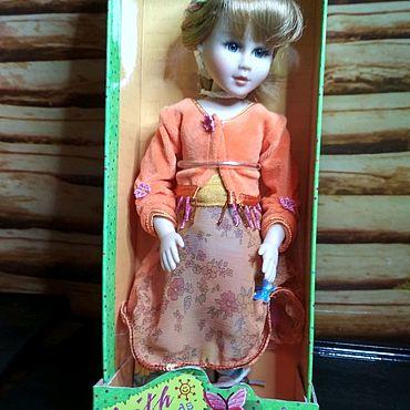 """Винтаж ручной работы. Ярмарка Мастеров - ручная работа Кукла из серии """"Вера и друзья"""" от Robin Woods. NRFB. Handmade."""