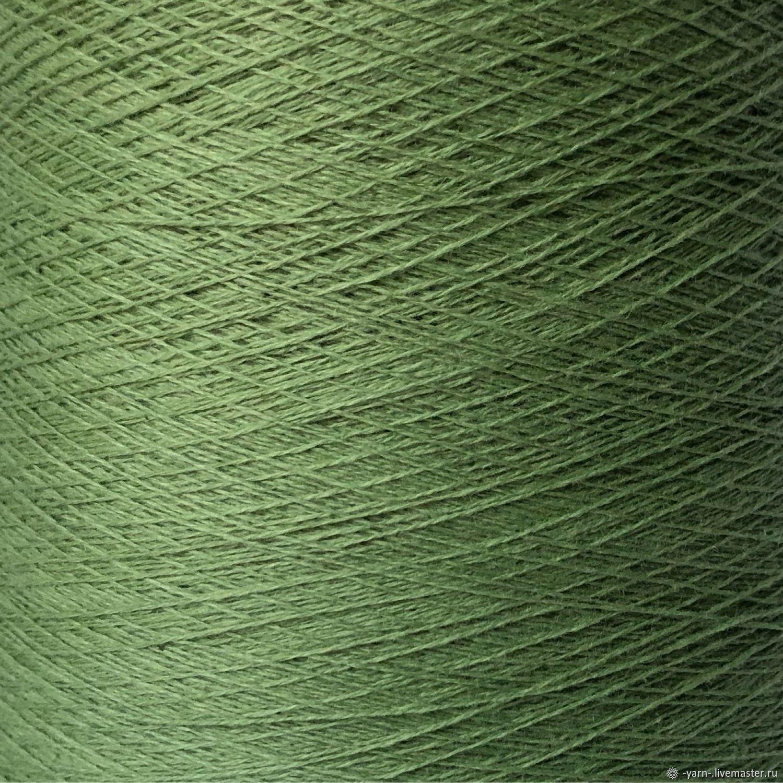Пряжа Кашемир 2/28 светло-зеленый – купить на Ярмарке Мастеров – N5TTQRU | Пряжа, Санкт-Петербург