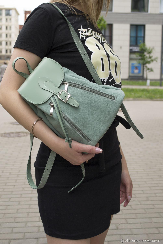 Рюкзак кожаный женский, Рюкзаки, Санкт-Петербург,  Фото №1