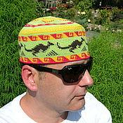 """Одежда ручной работы. Ярмарка Мастеров - ручная работа Летняя шапка  """"Кенгуру 2"""". Handmade."""