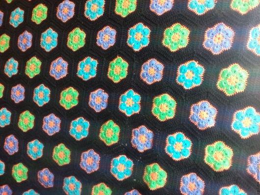 Текстиль, ковры ручной работы. Ярмарка Мастеров - ручная работа. Купить плед. Handmade. Плед, вязание