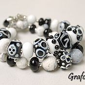 Украшения handmade. Livemaster - original item Bracelet Yin-Yang. Handmade.