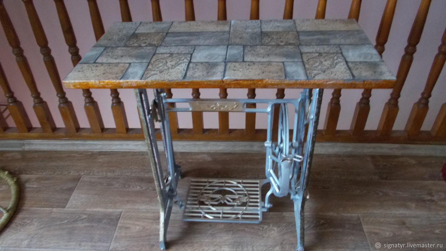 TABLE JAPAN on a cast iron frame made in Japan, Tables, Orenburg,  Фото №1