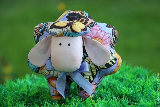 Куклы Тильды ручной работы. Ярмарка Мастеров - ручная работа. Купить Тильда овечка. Handmade. Сиреневый, Овечки, овечка сувенир