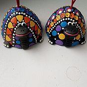 Колокольчики ручной работы. Ярмарка Мастеров - ручная работа Колокольчик Черепаха. Handmade.
