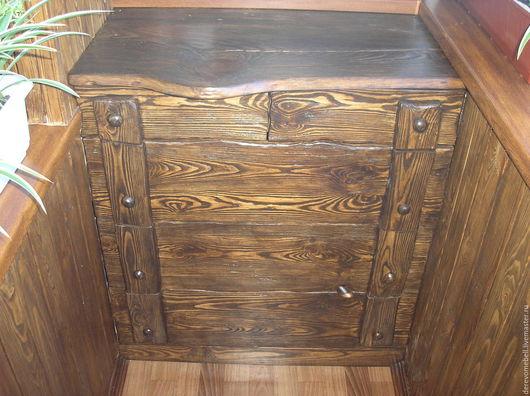 Мебель ручной работы. Ярмарка Мастеров - ручная работа. Купить Комод деревянный. Handmade. Коричневый, сосна, дерево
