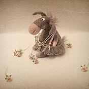 Куклы и игрушки ручной работы. Ярмарка Мастеров - ручная работа Ослик Тая.. Handmade.