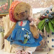 Куклы и игрушки ручной работы. Ярмарка Мастеров - ручная работа Мишка Черника. Handmade.