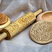 Для дома и интерьера ручной работы. Ярмарка Мастеров - ручная работа скалочка для формовки печенья. Handmade.