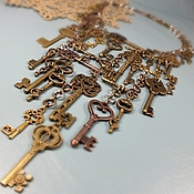 Украшения handmade. Livemaster - original item 38 Keys. Necklace. Handmade.