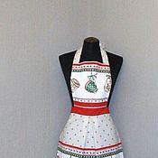 Для дома и интерьера ручной работы. Ярмарка Мастеров - ручная работа фартук-передник кухонный  женский чашки. Handmade.