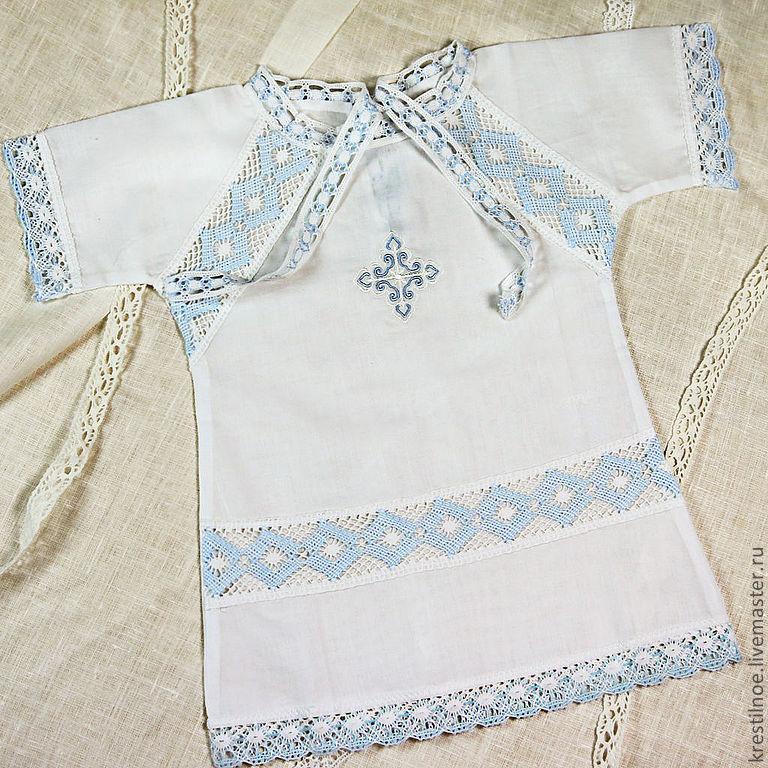 Как сшить крестильную рубашку для мальчика своими руками 31