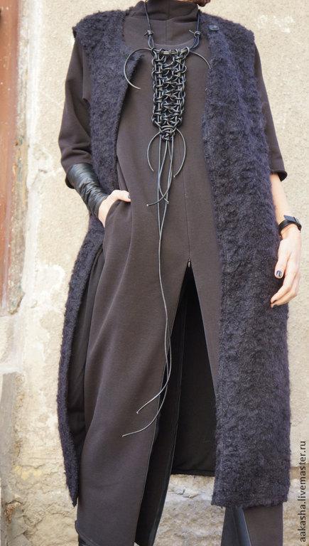 Платье кардиган платье в пол длинное платье теплое платье