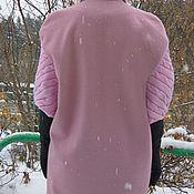 Одежда ручной работы. Ярмарка Мастеров - ручная работа Пальто Розовая сирень. Handmade.