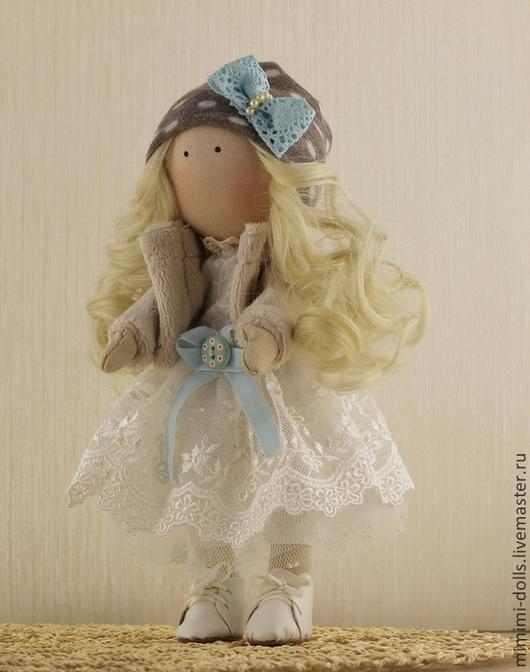 Коллекционные куклы ручной работы. Ярмарка Мастеров - ручная работа. Купить Текстильная кукла Сонечка.. Handmade. Кукла, кукла интерьерная