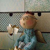"""Куклы и игрушки ручной работы. Ярмарка Мастеров - ручная работа По мотивам работы """"Мысли-бабочки"""". Handmade."""