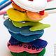 Развивающие игрушки ручной работы. Набор цифр из фетра. PandaStudio. Ярмарка Мастеров. Фетровые цифры