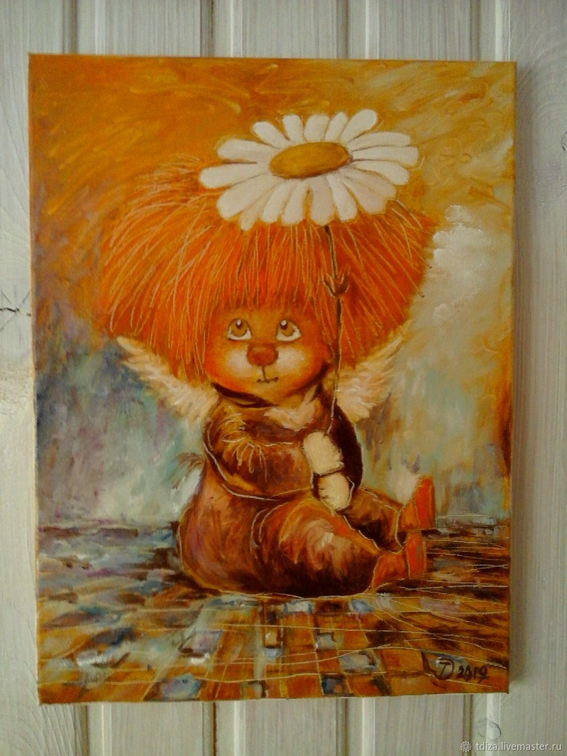 Oil painting in baby Cutie, Pictures, Solnechnogorsk,  Фото №1