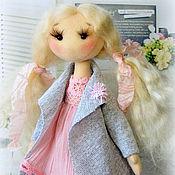Куклы и игрушки ручной работы. Ярмарка Мастеров - ручная работа Бесплатная доставка. Куколка Лара. Handmade.