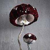 Сувениры и подарки handmade. Livemaster - original item Amanita mushroom. Handmade.