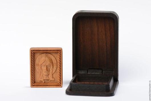 Иконы ручной работы. Ярмарка Мастеров - ручная работа. Купить икона резная из дерева миниатюрная. Handmade. Икона, резьба по дереву